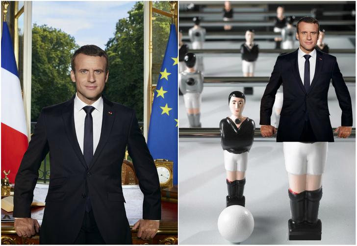 Фото №1 - Лучшие фотожабы на президента Франции Эммануэля Макрона!