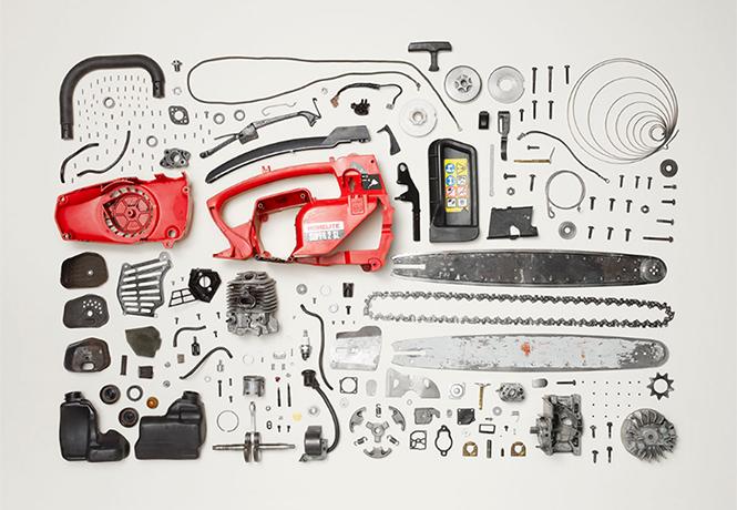 Фото №1 - 10 предметов, разобранных на части: от бензопилы до огнетушителя