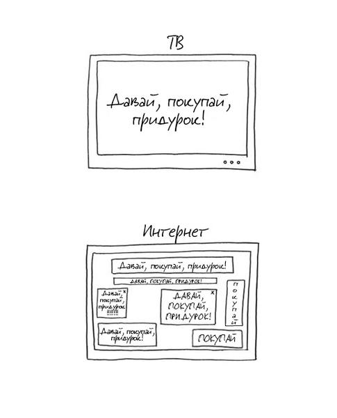 Фото №2 - Сколько на самом деле рекламы в соцсетях (сравнительный график)