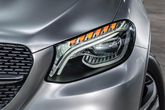 Mercedes Concept Coupe SUV — автомобиль с нескромными габаритами