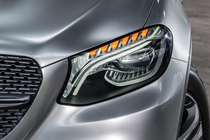 Фото №3 - Mercedes Concept Coupe SUV — автомобиль с нескромными габаритами