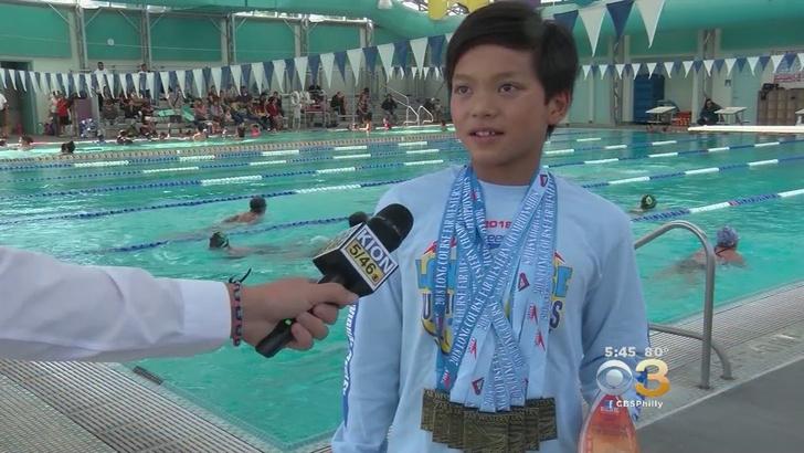 Фото №1 - Десятилетний мальчик (предположительно с Криптона) побил рекорд Майкла Фелпса