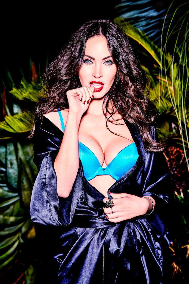 Фото №4 - Соблазнительная Меган Фокс в рекламе нижнего белья