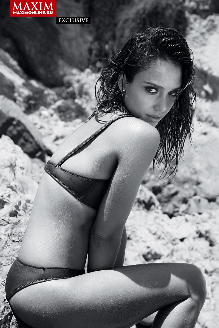 Фото №2 - Джессика Альба — эксклюзивные фотографии только для читателей сайта MAXIM