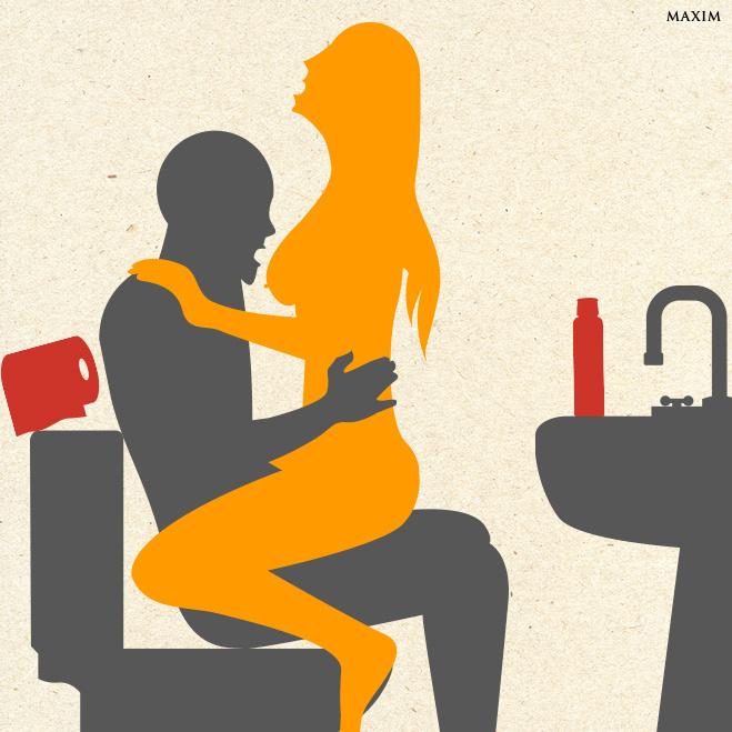 Секс в офисе места