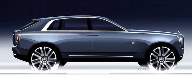 Фото №5 - Просто царь: Rolls-Royce выкатил первый в своей дивной истории внедорожник
