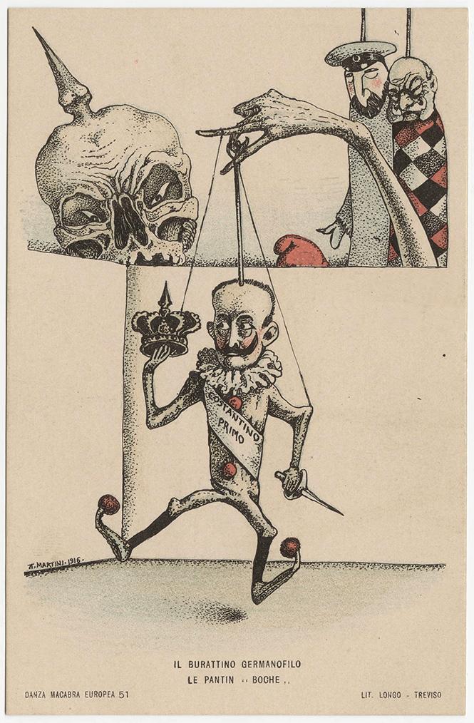Фото №31 - Жутковатые карикатуры Первой мировой