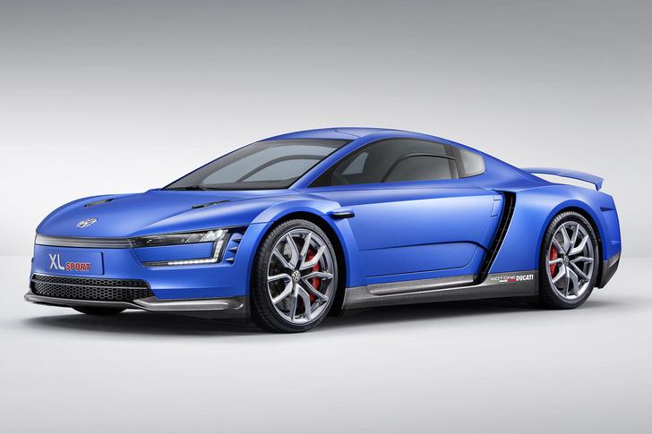 Фото №1 - Автомобильная мутация. Volkswagen XL Sport — результат скрещивания экомобиля и мотоцикла