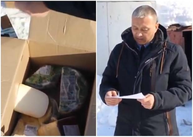 Фото №1 - Чиновник зачитал сыру приговор перед сожжением (видео)