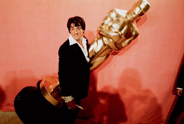 Слай с Оскаром