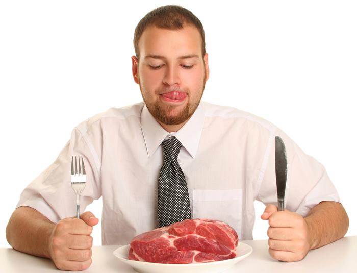 Фото №1 - Ешь сырое мясо и рыбу