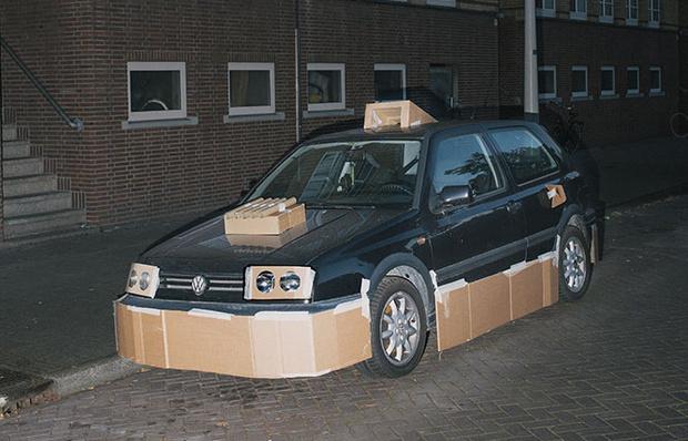 Фото №6 - Картонный тюнинг от амстердамского художника