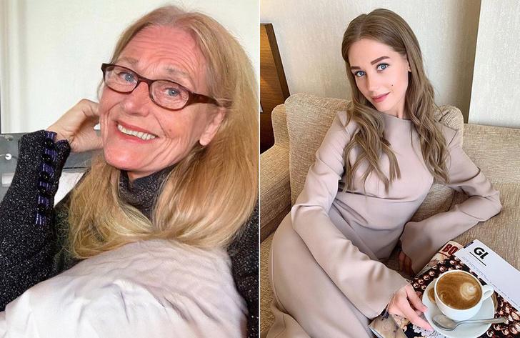 Фото №4 - Самые красивые российские звезды-участницы флешмоба FaceApp, выложили «состаренные» фото