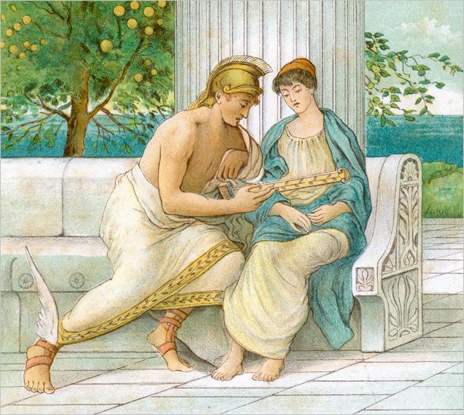 Древние мужчины предпочитали ходить в платьицах, юбочках, фартучках