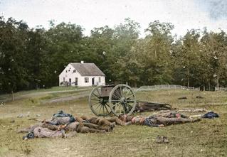 Мертвые солдаты армии Юга США: цветные фото, от которых бросает в дрожь