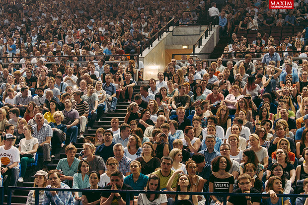 Фото №8 - Тот самый концерт в Москве, на который пришел даже Тилль Линдеманн из Rammstein