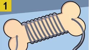 Фото №2 - Как сделать, чтобы провода не запутывались: 4 лайфхака