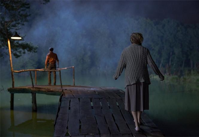 Фото №1 - Инфернальная русалка в трейлере русского хоррора «Русалка. Озеро мертвых»