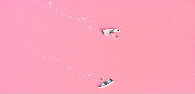 Идеи для отпуска: Озеро Ретба, Сенегал