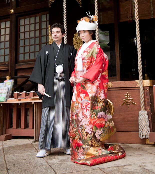 Традиционные японские штаны хакама