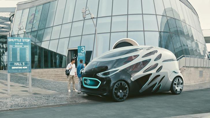 Фото №1 - Mercedes-Benz придумал машину со сменными кузовами