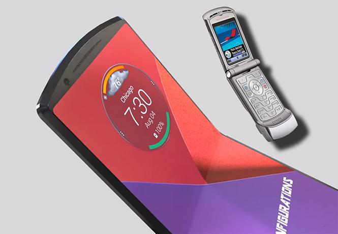 Фото №1 - К нам возвращается культовый мобильник Motorola Razr под именем Motorola Razr XT2000-1