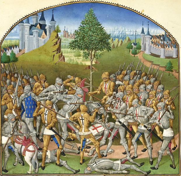 Фото №1 - Бой тридцати: легендарная битва Столетней войны