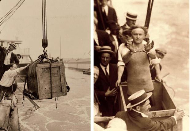 Фото №7 - 5 знаменитых фокусов Гарри Гудини, секрет которых удалось раскрыть
