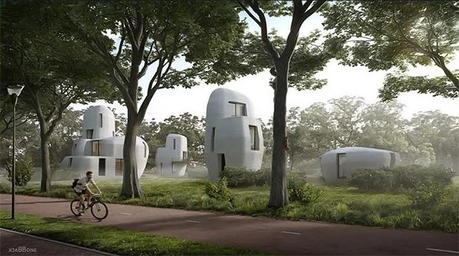 Фото №2 - Как будеть выглядеть первый в мире 3D-отель? Как деревня в соседней Галактике!
