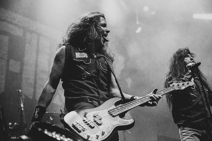Фото №21 - Как разверзался ад на концерте трэш-металлистов Slayer и Anthrax