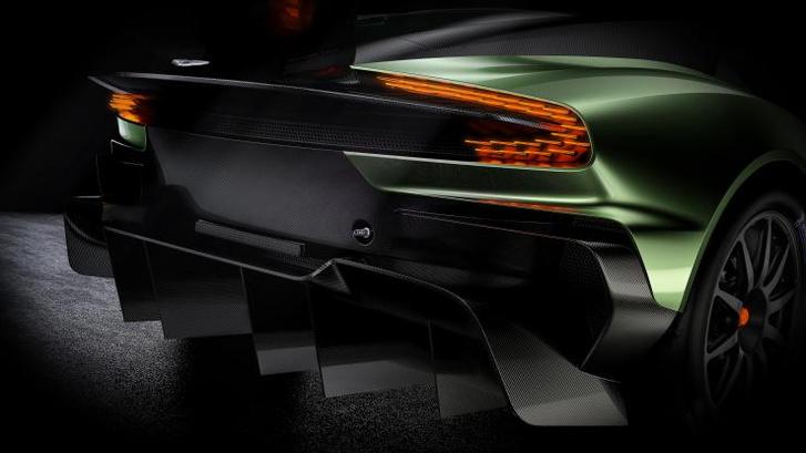 Фары Aston Martin Vulcan