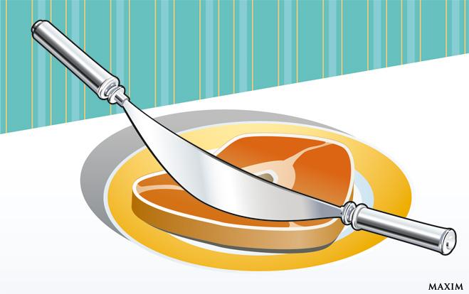 Двуручный нож