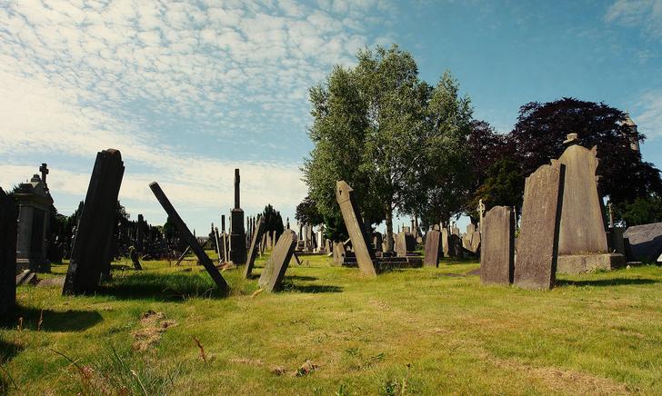 Детское кладбище в Дублине