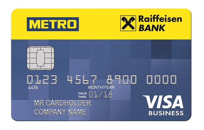 Райффайзенбанк и METRO выпустили карту для малого бизнеса
