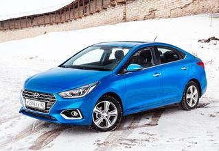 Это новый Hyundai Solaris
