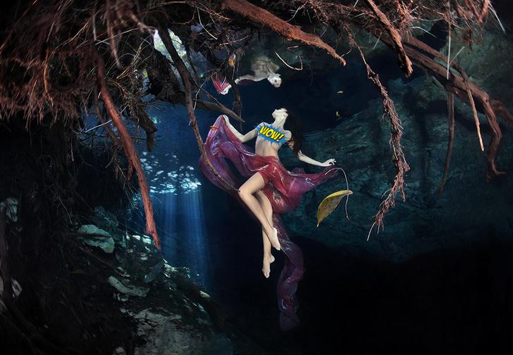 Фото №1 - Потрясающие эротические фотографии под водой!