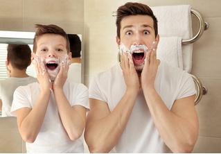 Пена для бритья может отнять у тебя радость отцовства!