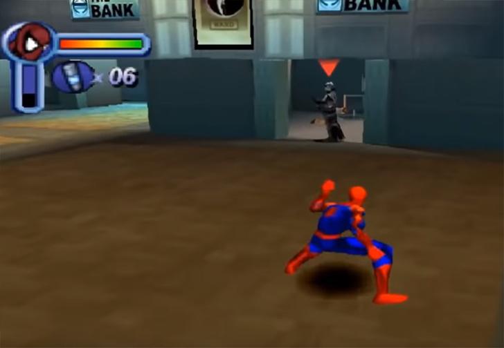 Фото №1 - Как менялись игры про Человека-паука на протяжении 36 лет (видео)