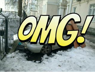 Уникальная инновационная суперзащита автомобиля от сосулек! Изобретение смекалистого воронежца! ФОТО
