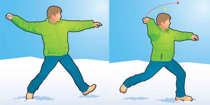 Фото №2 - Как победить в снежки