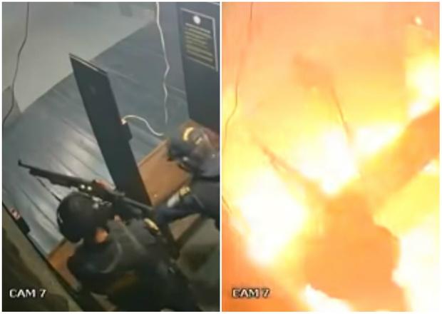Фото №1 - Тир, который давно не подметали, неожиданно взлетел на воздух (видео)
