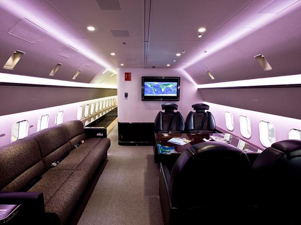Фото №4 - Летающие лимузины! Как выглядят пассажирские самолеты, превращенные в частные