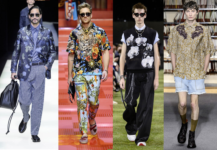 Фото №1 - Как носить растительный принт этим летом? Гид для настоящих мужиков!