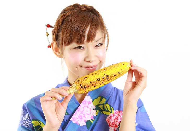 Фото №1 - Японский способ есть кукурузу
