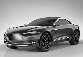 На первый взгляд — это обычный люксовый кроссовер! А присмотришься — электромобиль от Aston Martin!