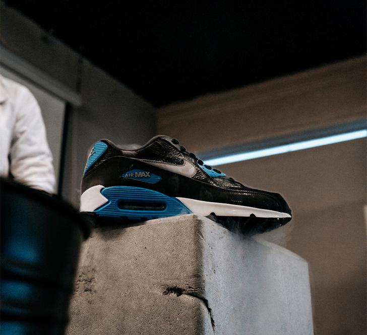 Nike Air Max 90 vs. жидкий азот