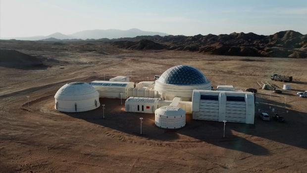 Фото №1 - В Китае построили марсианскую базу
