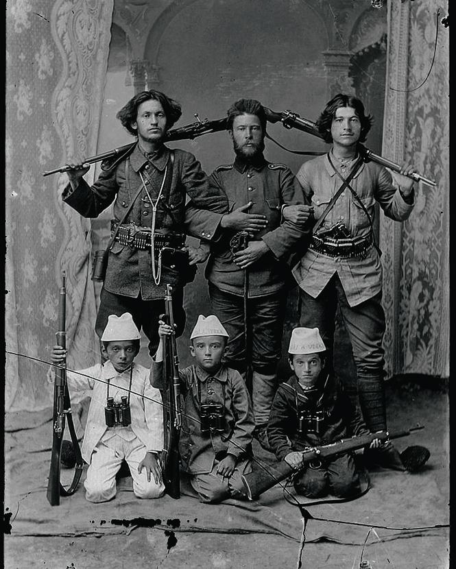 Албанские вершители кровной мести, 1912год