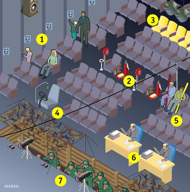 Фото №1 - Мы придумали идеальный кинотеатр для военных, курильщиков и всех остальных