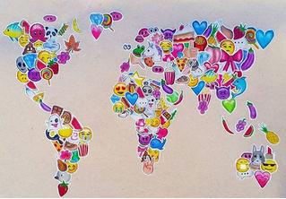 Определены самые популярные эмодзи в разных языках мира